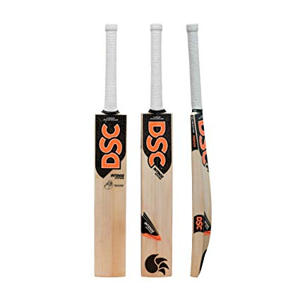 DSC Intense Attitude English Willow Cricket Bat Short Handle Full Size