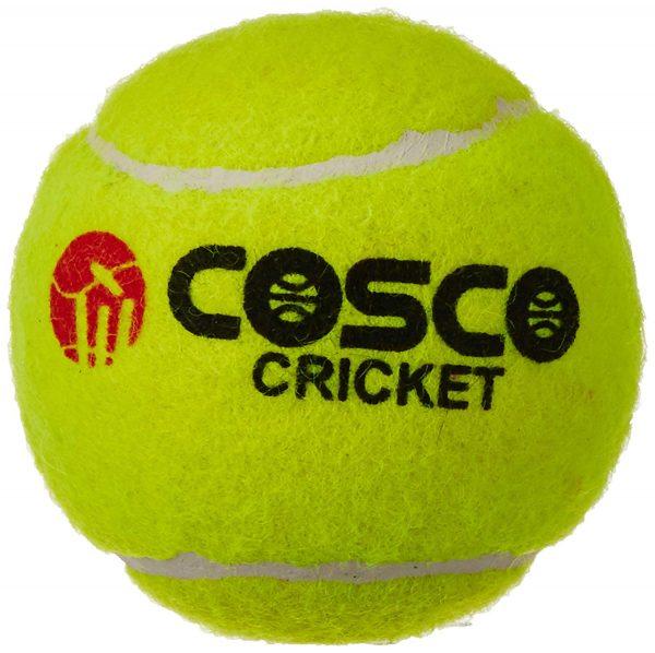 Cosco Light Weight Cricket Tennis Ball (High Bounce)