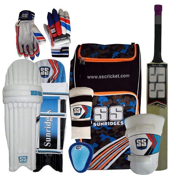 SS Kashmir Willow Cricket Full Kit