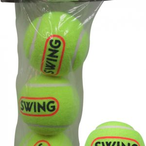 Cosco SWING Light Weight Cricket Tennis Ball (Pack of 3 balls)