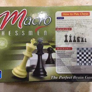Macro Chessmen Chess pieces