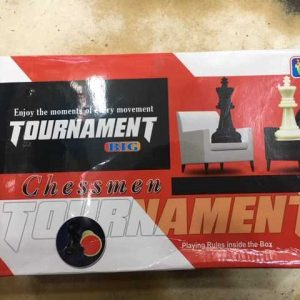 Chessmen Tournament Chess pieces (Large size)