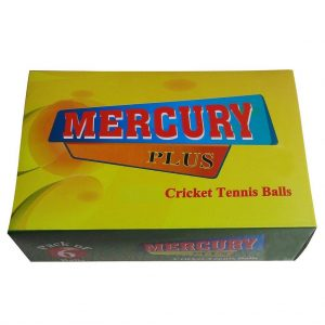 Mercury Plus Cricket Tennis Ball (Light weight)