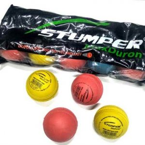 Stumper Ball Rubber Max Duron (Pack of 10 balls)